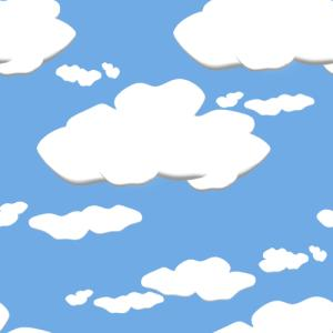 Cartoon-clouds