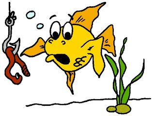 Fish & Hook - Cartoon 1_0
