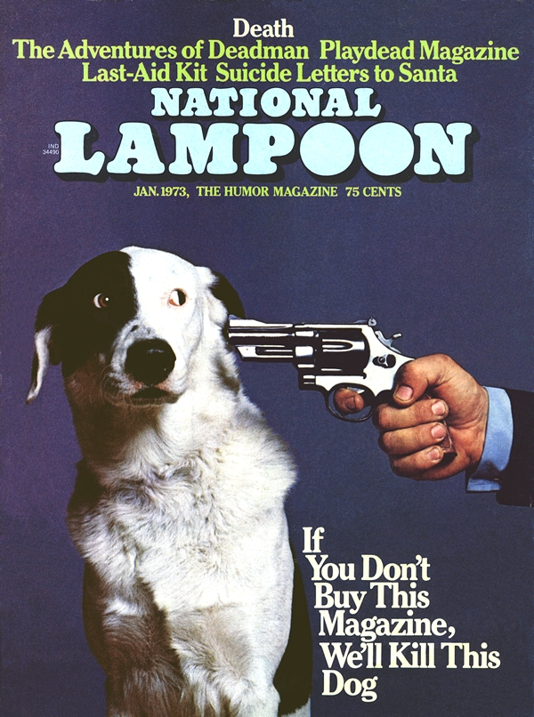 Nat'l Lampoon and the campaign against Rachel Carson